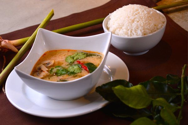 Transporting you to the 'Land of Smiles' with this authentic Thai recipe for Tom Yum Kai