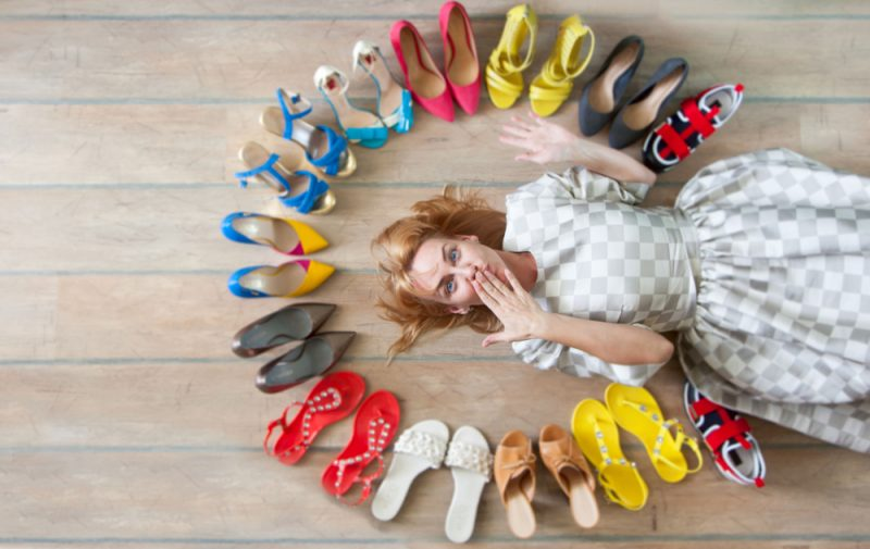 """""""GIVE A GIRL THE RIGHT SHOES, AND SHE CAN CONQUER THE WORLD"""" – MARILYN MONROE"""