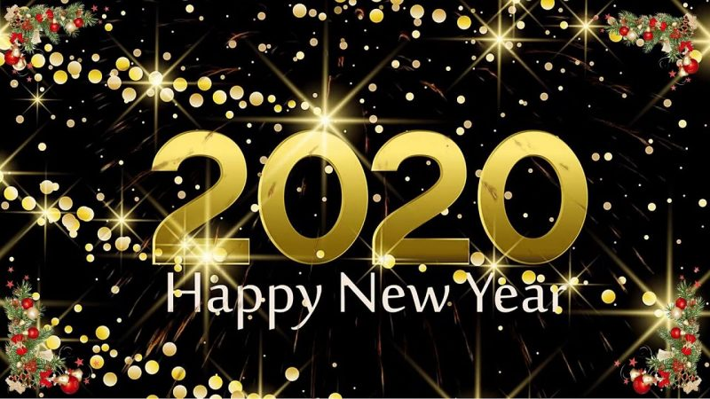 Happy New Year 2020 from all at Glotime.tv