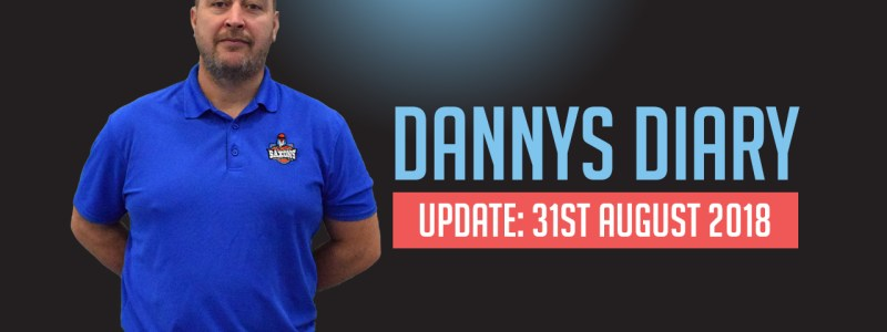 gloucester saxons basketball - dannys diary - update 31st august 2018
