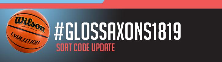 sort code update