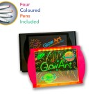 drawing board - Pink Glow Art neon lighting effect