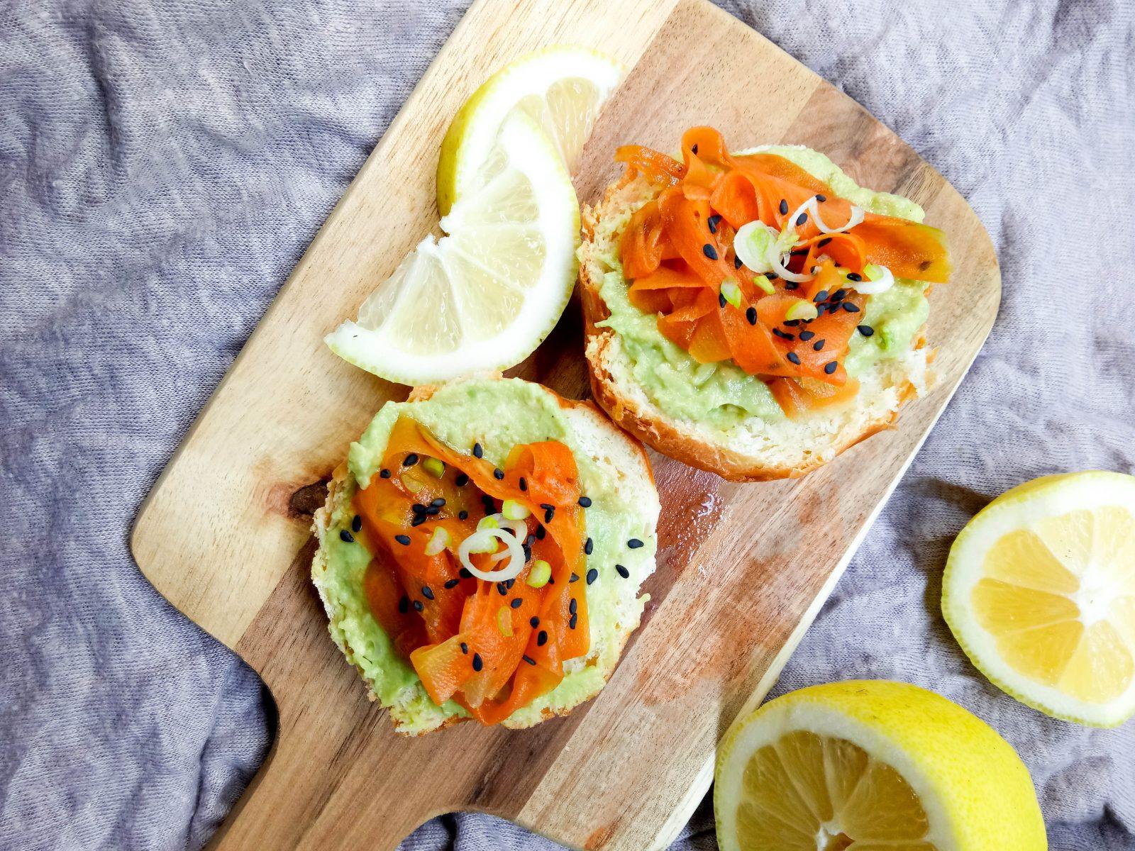 how to make raw vegan carrot lox