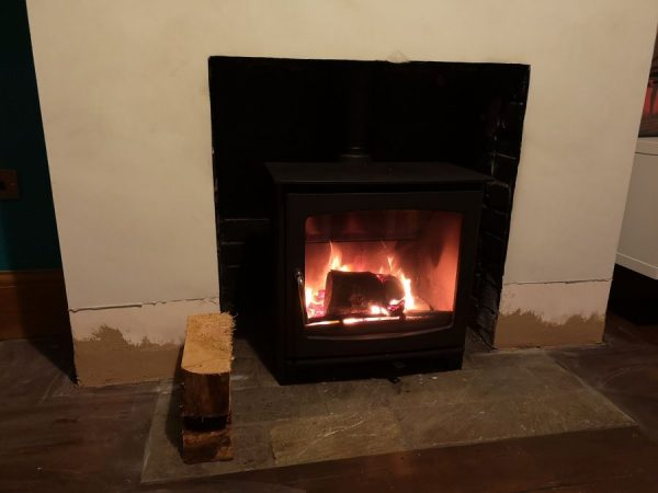 Woodburner installation Taunton