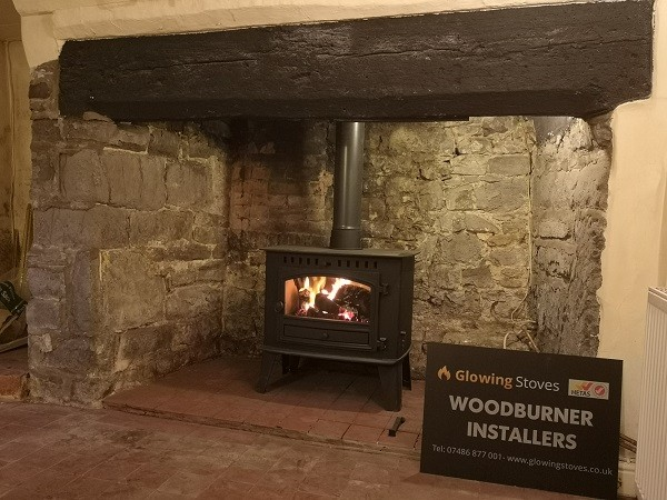 Log burner installer in Stogursey, Bridgwater.