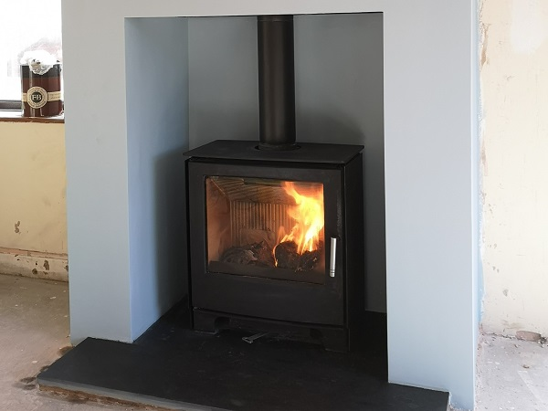 False chimney breast and fireplace alterations in Taunton
