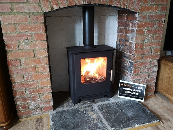Multi fuel stove installers in Langport, Somerset.