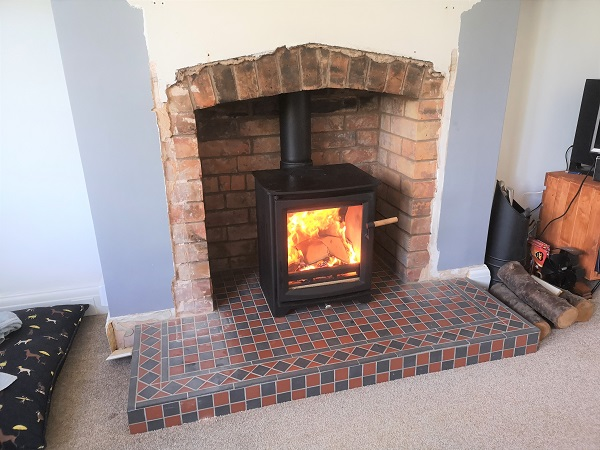 Stove installers in Taunton, Somerset.