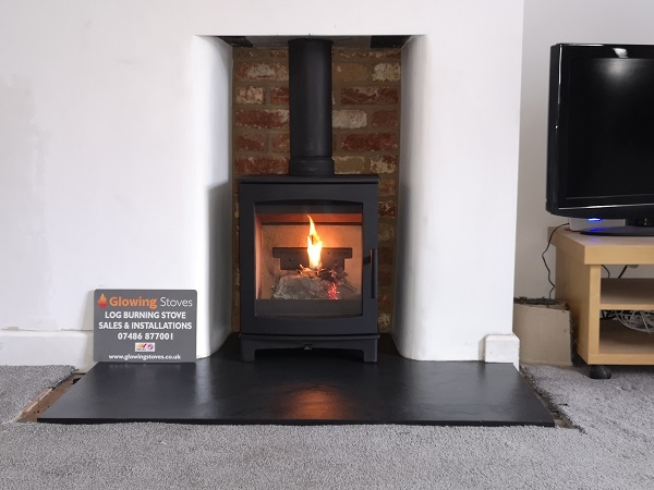 Wood burners and multi fuel stove installer in Taunton.