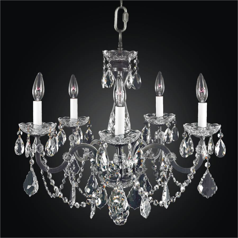 old world iron 543ad5l chandeliers 5 lights