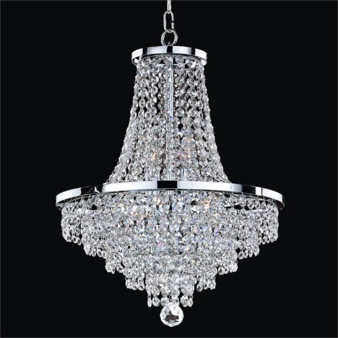 Crystal Empire Chandelier Vista 628a By Glow Lighting