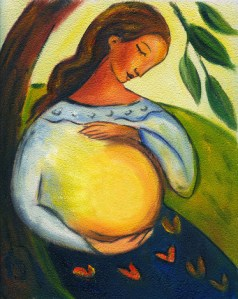 main glow midwife logo