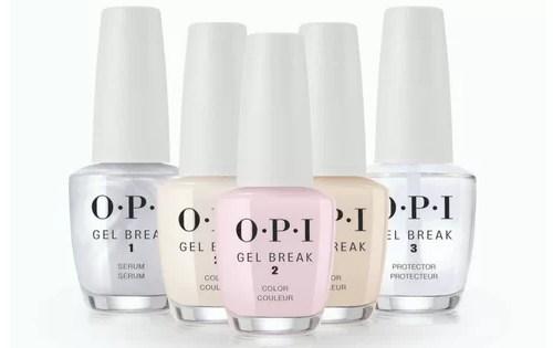 OPI Gel Break system regeneracji paznokci zniszczonych manicurem hybrydowym