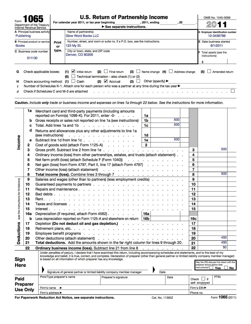 Earned Income Worksheet B
