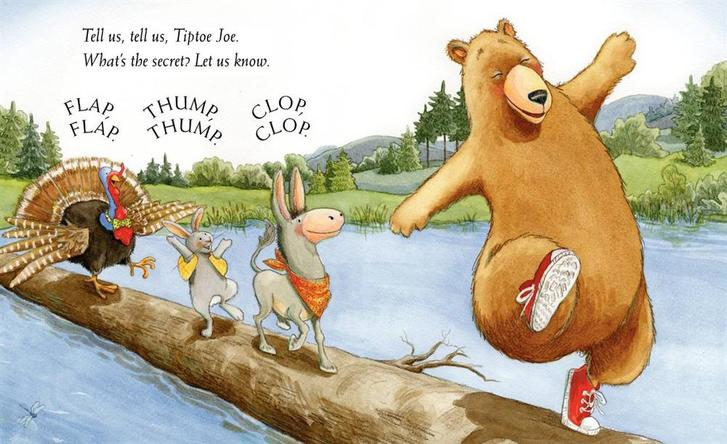 Image result for tiptoe joe picture book