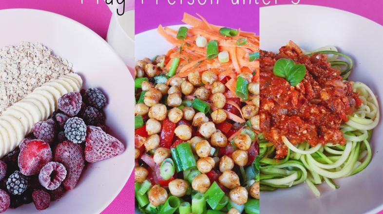 1 Tag Essen – 1 Person – unter 5 Euro
