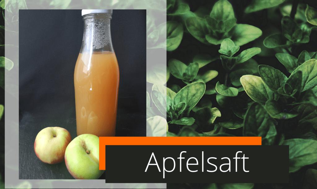 Apfelsaft ohne Saftpresse