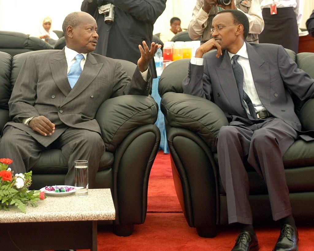 Image result for kagame vs museveni