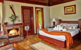 An estate room at Hidden Valley Inn in Belize.