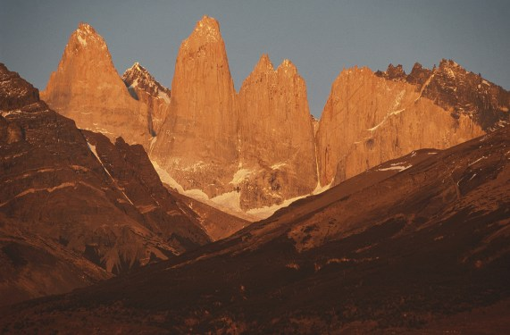 sunset in Patagonia