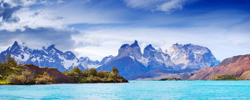 The peaks of Cuernos del Paine
