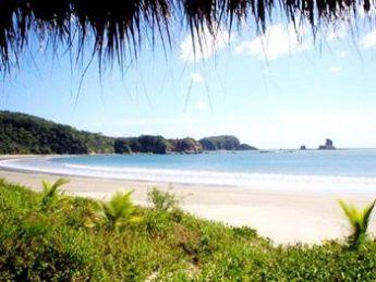 A beach in Nicaragua.