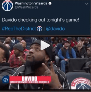 Americans Deny Knowing Davido After He Was Recognized During An NBA Game
