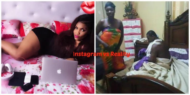 vllkyt38p5fu1tiql.6bad6203 - Fake Life! 12 HILARIOUS Photos That Show The Difference Between Nigerian Girls on Instagram and Reality (Photos)