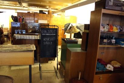 Die Werkstatt bei Wedderbruuk