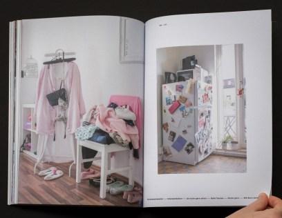 """Impressionen aus Annemaries Fotobuchprojekt """"Personal Spaces"""". Zuhause bei Julia Meyer und anderen Protagonisten"""