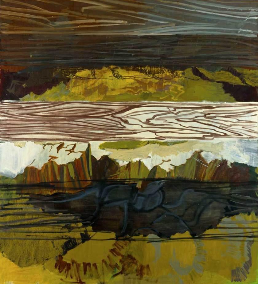 Per-Kirkeby,-Brett---Felsen,-2000,-ôl-auf-Leinwand,-Louisiana-Museum-of-Modern-Art,-Schenkung-Jytte-und-Dennis-Dresing_web