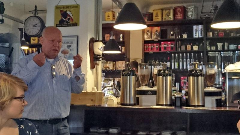 Röstmeister Christian Ritschel wirbt für mehr Respekt vor Kaffee