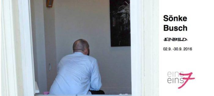 Sönke Busch will sich auf die Architektur des Raums einlassen in der Galerie einseins7.