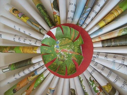 paper tube starburst