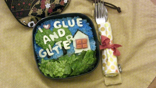 Glue and Glitter Bento