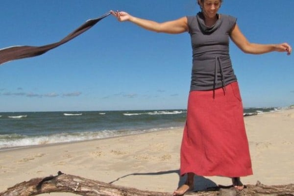 organic hemp skirt from Conscious Clothing