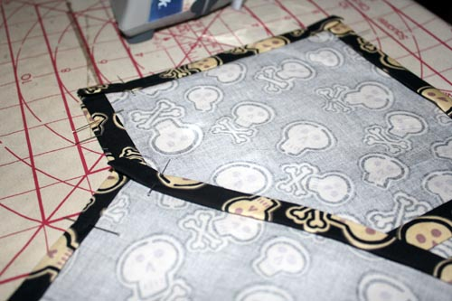 pinning cloth napkins