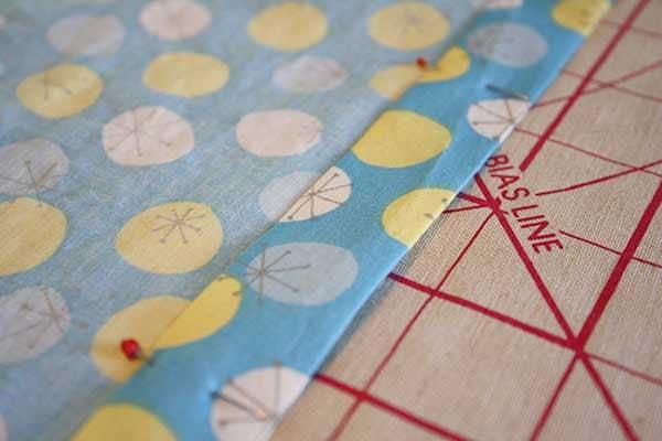 make a crib sheet: pinned casing