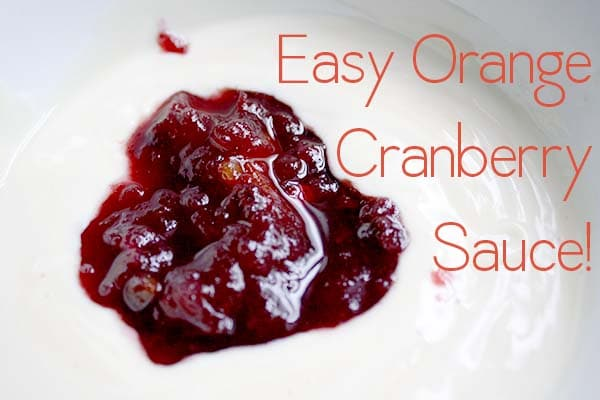 This cranberry sauce was always a staple at holiday meals when I was a kid, and this year I grilled my pops for the recipe!