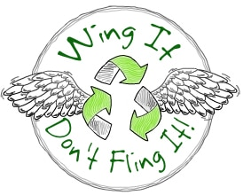 wing it dont fling it
