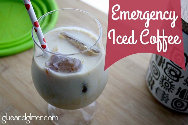 making iced coffee at home