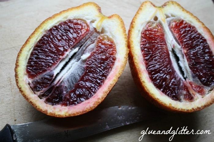 Blood Orange Martini. Stirred, not shaken.