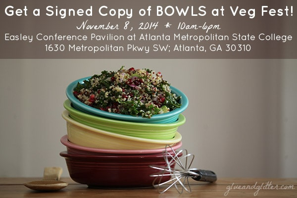 BOWLS Signing at Atlanta Veg Fest!