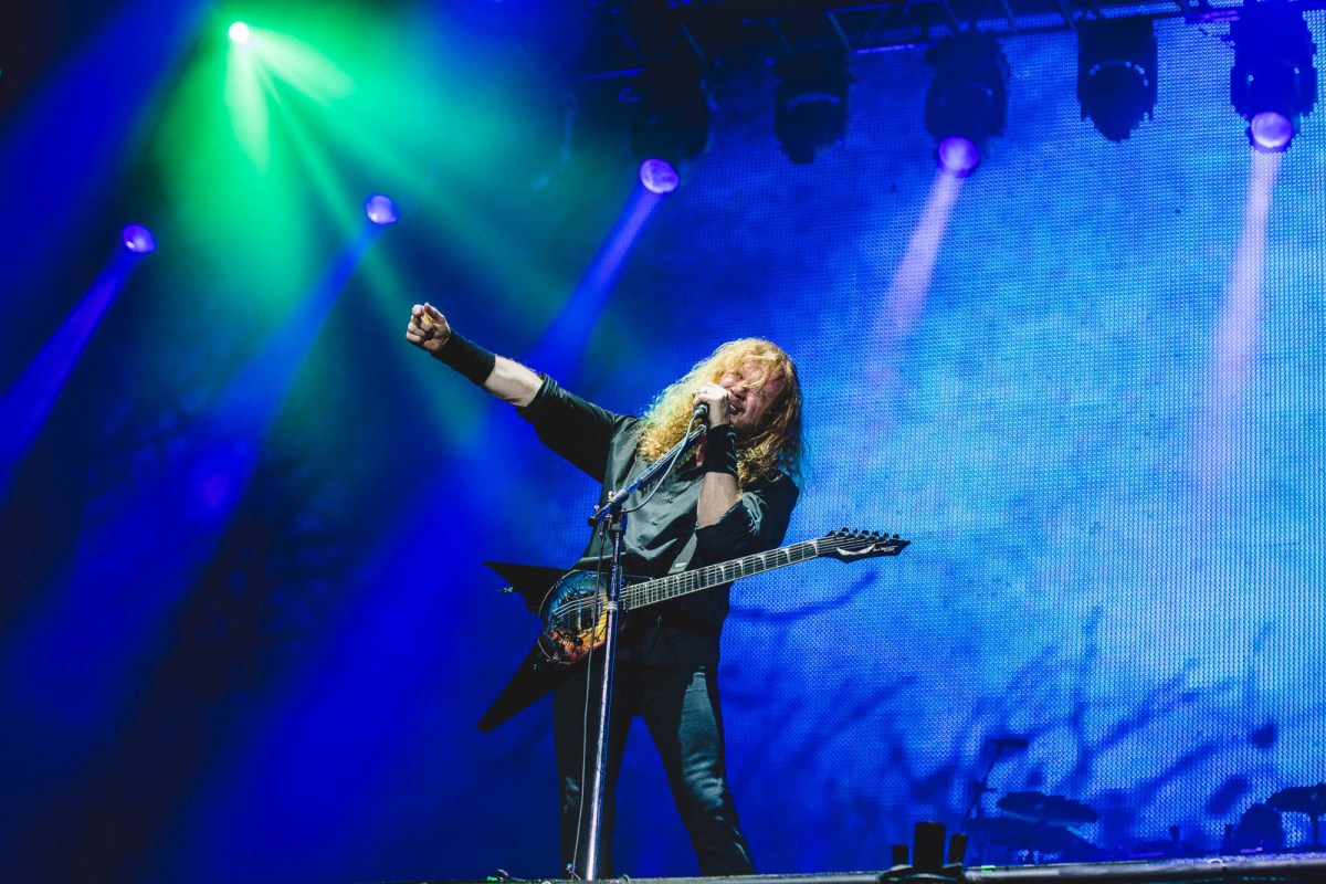 Wacken, Heavy Metal, Dave Mustaine, Festival, Megadeth, 2017, Open Air