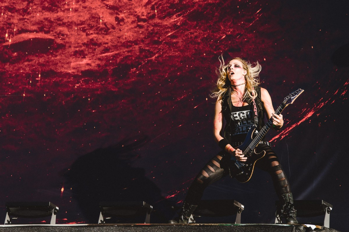 nita strauss, Wacken, Heavy Metal, Festival, Alice Cooper, 2017, Open Air