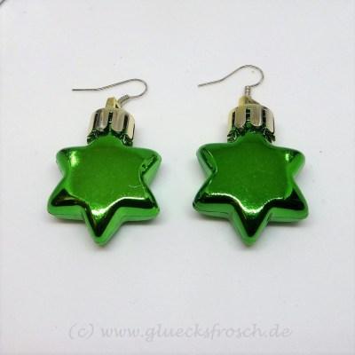 grüne Weihnachtsstern, Ohrschmuck