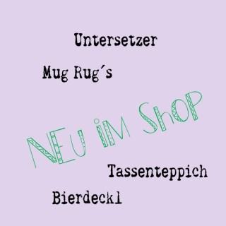 Untersetzer, Mug Rug