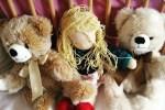 Foto Puppe und Bären