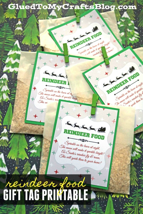 photo regarding Printable Reindeer Food Tags known as Reindeer Food stuff Recipe Printable