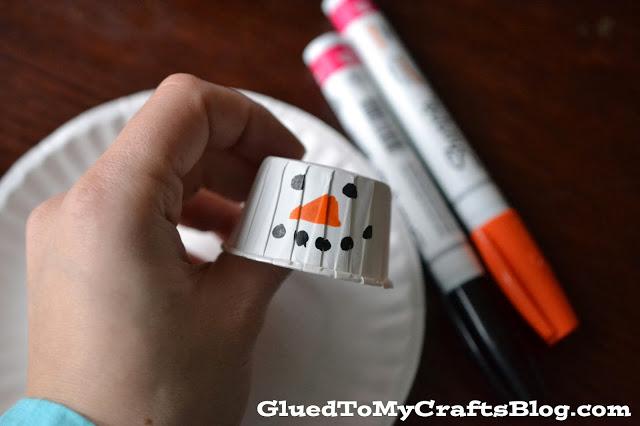 Melted Snowman {Kid Craft}